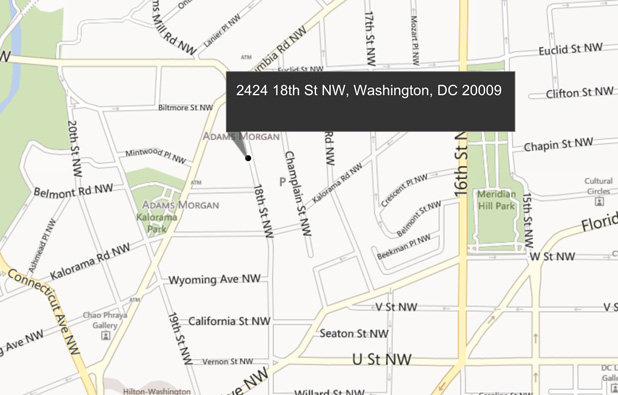 Adams Morgan Dc Map.Papadopoulos Properties Retail Brokerage Washington Dc Maryland
